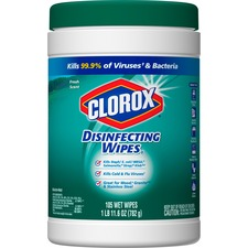 CLO 01728CT Clorox Scented Disinfecting Wipes CLO01728CT