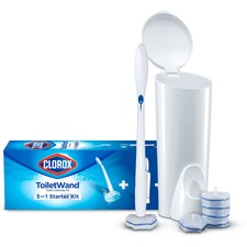 CLO 03191PL Clorox ToiletWand Disposable Toilet Clean System CLO03191PL