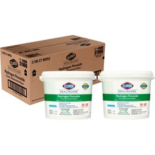 CLO 30826CT Clorox Hydrogen Peroxide Disinfecting Wipes CLO30826CT