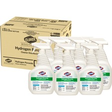 CLO 30828CT Clorox Healthcare Hydrogen Peroxide Cleaner CLO30828CT