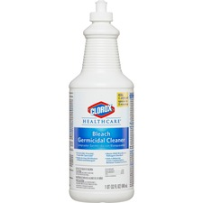 CLO 68832PL Clorox Healthcare Bleach Germicidal Cleaner CLO68832PL