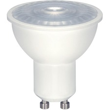 Satco LED Light Bulb - 6.50 W - 50 W Incandescent Equivalent Wattage - 120 V AC - 500 lm - MR16 Size - Natural Light Light Color - GU10 Base - 25000 Hour - 8540.3°F (4726.8°C) Color Temperature - 80 CRI - 40° Beam Angle - Dimmable - 1 Each