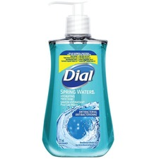 Dial Liquid Soap - Spring Water Scent - 221 mL - Kill Germs - Hand - 1 Each