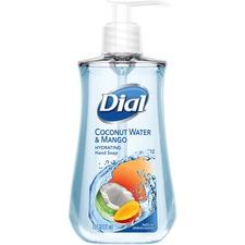 Dial Liquid Soap - Coconut Water & Mango Scent - 221 mL - Kill Germs - Hand - 1 Each