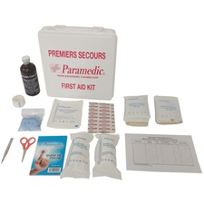Paramedic Workplace First Aid Kit Newfoundland & Labrador #2, 2-14 Employees - 14 x Individual(s) - 1 Each