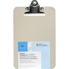 BSN 01859 Bus. Source Compact Plastic Clipboard BSN01859