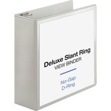 BSN62471 - Business Source Slant D-ring Presentation Binder