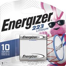 Energizer 223 e2 Lithium Photo 6-Volt Battery - For Multipurpose - 6 V DC - 1300 mAh - Lithium (Li)