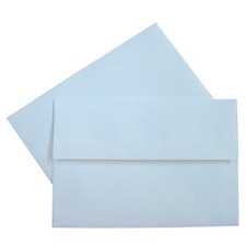"Supremex Invitation Envelopes - 5 1/4"" Width x 7 1/4"" Length - 24 lb - Square Flap - 100 / Box - White"