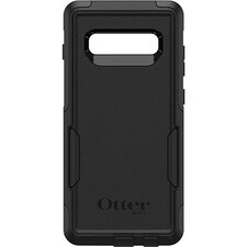 OtterBox Commuter Series for Galaxy S10+ - For Samsung Smartphone - Black - Impact Resistant, Impact Absorbing, Dust Resistant, Dirt Resistant, Anti-slip, Drop Resistant - Synthetic Rubber, Polycarbonate - 1