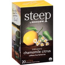 BTC 17707 Bigelow Chamomile Citrus Herbal Tea BTC17707