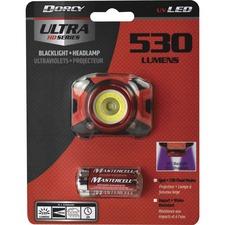DCY 414335 Dorcy Intl Ultra HD 530 Lumen Headlamp DCY414335