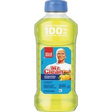 Mr. Clean Antibacterial Cleaner - Liquid - 28 fl oz (0.9 quart) - Summer Citrus Scent - Yellow