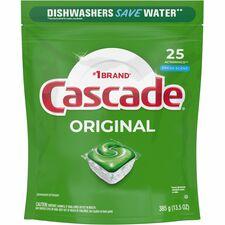 PGC 80675 Procter & Gamble Cascade Original Detergent Pacs PGC80675