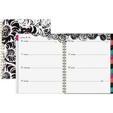 AAG1286905 - At-A-Glance Jane Dixon Nautilus Weekly/Monthly Planner