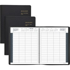 AAG702128020 - At-A-Glance 8-Person Group Daily Appointment Book