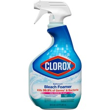 CLO 30614CT Clorox Bathroom Bleach Foamer Original Spray CLO30614CT