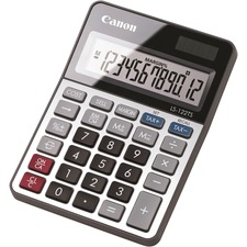 CNMLS122TS - Canon LS-122TS 12-digit LCD Basic Calculator
