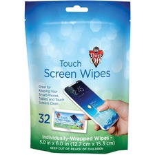 FAL DTSW32 Falcon Dust-Off Touch Screen Wipes FALDTSW32