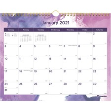 RED C172123 Rediform Passion Wall Calendar REDC172123