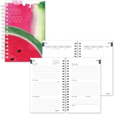 RED CA113PC03 Rediform Watercolor Design Cover Academic Planner REDCA113PC03