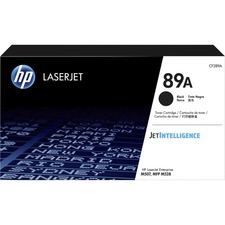 HP 89A (CF289A) Toner Cartridge - Black - Laser - High Yield - 5000 Pages