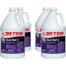 BET 3410400CT Betco Corp Quat-Stat 5 Disinfectant Gallon BET3410400CT
