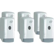 DIA 03226CT Dial Corp. 800ml Liquid Soap Push Dispenser DIA03226CT
