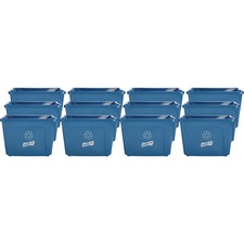 GJO 11582CT Genuine Joe 14-gallon Recycling Bin GJO11582CT