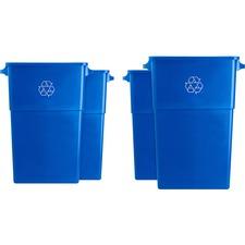 GJO 57258CT Genuine Joe 23-gallon Recycling Container GJO57258CT