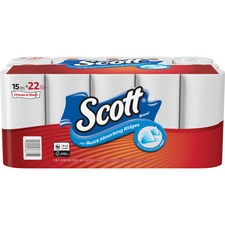 Scott Paper Towels Choose-A-Sheet - Mega Rolls - 1 Ply - 102 Sheets/Roll - White - Perforated, Absorbent, Durable - For Breakroom - 30 / Carton