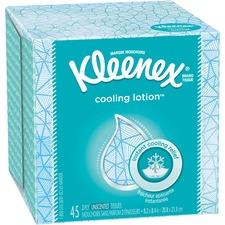 KCC 50140 Kimberly-Clark Kleenex Cooling Lotion Tissues KCC50140