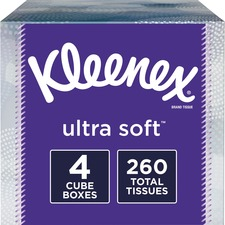 KCC 50173 Kimberly-Clark Kleenex Ultra Soft Tissues KCC50173