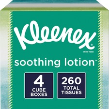 KCC 50174 Kimberly-Clark Kleenex Soothing Lotion Tissues KCC50174