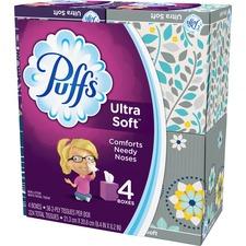 PGC 35295CT Procter & Gamble Puffs Ultra Soft Tissue 4-pack PGC35295CT
