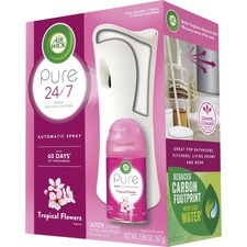 RAC 97290CT Reckitt Benckiser Tropical Flowers Pure Spray Kit RAC97290CT