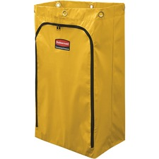 RCP 1966719CT Rubbermaid Comm. 24-gal Janitor Cart Vinyl Bag RCP1966719CT