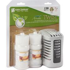 SJM WP1202MBCT San Jamar Twist Air Care Dispenser Kit SJMWP1202MBCT