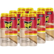 SJN 697322CT SC Johnson Raid Ant/Roach Killer Spray SJN697322CT