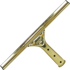 """UNG GS300CT Unger 12"""" GoldenClip Brass Squeegee UNGGS300CT"""
