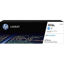 HP 414A (W2021A) Toner Cartridge - Cyan - Laser - 2100 Pages