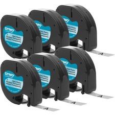 """DYM 2050824 Dymo LetraTag Labelmaker 1/2"""" Plastic Labels DYM2050824"""