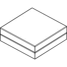 AROCU301WH01 - Arold Cube 300 Ottoman