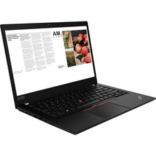 "Lenovo ThinkPad T490 20Q90003US 14"" Notebook - 1920 x 1080 - Core i5 i5-8365U - 8 GB RAM - 256 GB SSD - Glossy Black"