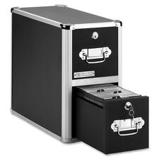 IdeaStream Vaultz 2-Drawer CD Cabinet