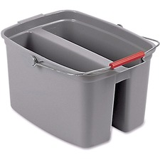 RCP 262888GY Rubbermaid Comm. 19-qt Double Pail RCP262888GY