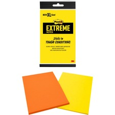 MMM XT4562MX 3M Post-it XL Extreme Notes MMMXT4562MX