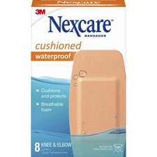MMM 52208CB 3M Nexcare Extra Cushion Knee/Elbow Bandages MMM52208CB