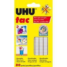 UHU Tac Adhesive Putty Pads - 1 / Pack - White