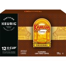 Timothy's Kahlua Coffee K-Cup - Kahlúa, Arabica, Rum, Vanilla, Caramel - Per Pod - 24 / Box